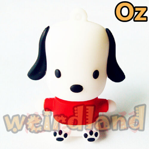 Doggy USB Stick 8GB 3D Quality USB Flash Drives weirdland
