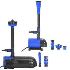 Vidaxl Pompe Pour Fontaine Pompe A Eau Fontaines D Exterieur Multi Modele Ebay