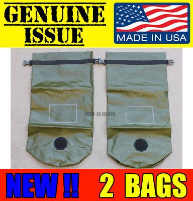 USMC MACS SACK 9 LITER DRY BAG SEAL LINE WATERPROOF US MARINE MILITARY ILBE NEW