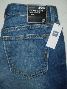 76d759f2c53 Details about Gap Long and Lean Slim Fit Mid Rise Flare Leg Womens Denim  Blue Jeans New  60