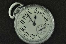 VINTAGE 16S ELGIN 21J FATHER TIME POCKET WATCH FROM 1911 RUNNING