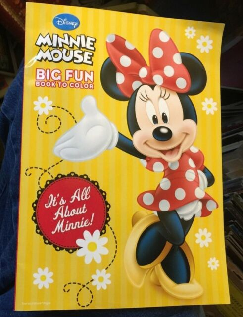 Disney Minnie Mouse Coloring Book It S All About Minnie Toy For Sale Online  EBay