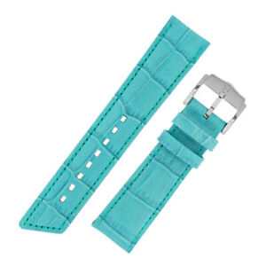 Hirsch-PRINCESS-Ladies-Alligator-Embossed-Calf-Leather-Watch-Strap-in-ICE-BLUE
