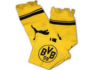 Puma Bvb 09 Fanschal Gelb Schwarz Borussia Dortmund Schal Fanartikel 120x18 Cm