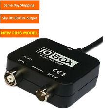 NEW IO LINK / SYNC / BOX RF MODULATOR OUTPUT BOX USE WITH MAGIC EYE FOR SKY HD