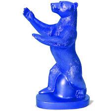 Berlin-Baerlin Berlin-Bär, blau, Kunststoffigur, plastic art Ottmar Hörl 2000