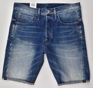 G-STAR-RAW-Type-C-3D-Jeans-Shorts-1-2-Gr-W32-Bermuda-Herren-Shorts-Jeans-Cut