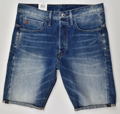 GStar Raw, Type C 3D Jeans Shorts 12, Size W32 Bermuda Men's Shorts Jeans Cut