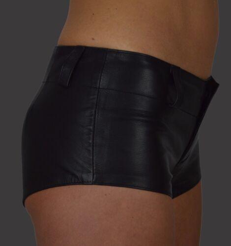 Cuir Short Hanche Pantalon Mini Shorts Pantalon Court Aw-162 Femmes Hot Pants Cuir Shorts