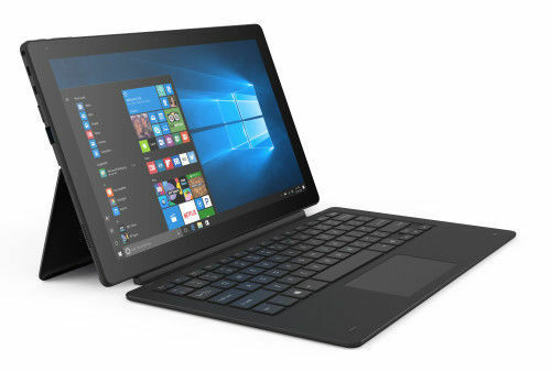 Linx 12X64 12.5-Inch 64GB Windows 10 Tablet and Keyboard - Black