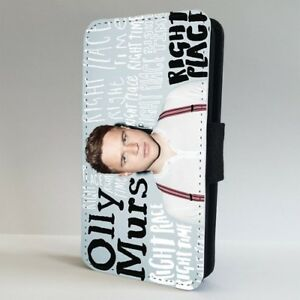 Olly-Murs-Right-Time-FLIP-PHONE-CASE-COVER-for-IPHONE-SAMSUNG