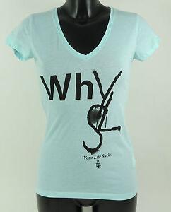 Boom Bap Shirt - WHY - BB10-0131 - MIXED ROYAL - türkis - V-Neck +Neu+