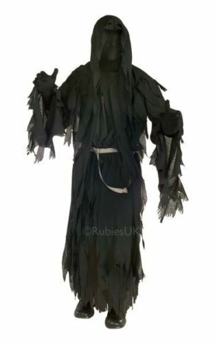 Adult Licensed Lord Of The Rings Ringwraith Mens Halloween Fancy Dress Costume