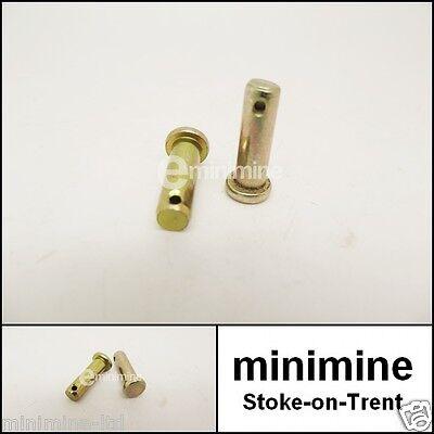 Classic Mini Door Check Strap Stay Arm Clevis Pin PAIR CLZ412 cooper austin 1275