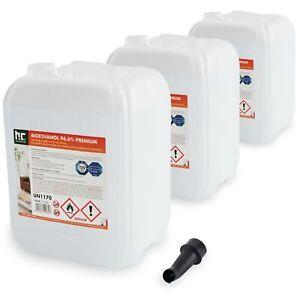 30 Liter (3 x 10 L) Bioethanol 96,6%  Bio Ethanol Kamin Brennflüssigkeit