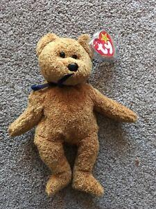 Fuzz-Ty-Beanie-Baby-Bear-Rare