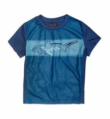 New $95 Greg Norman Tasso Elba Kid Boy/'S Black Short-Sleeve Polo Shirt Xs 2t//3t