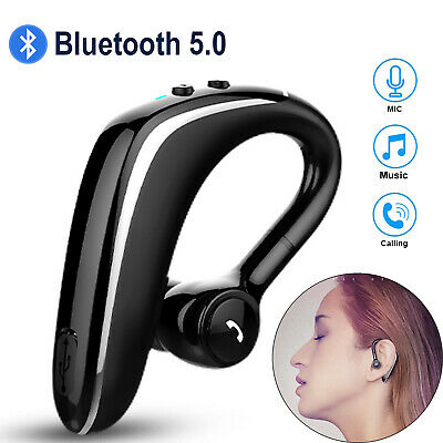 Comfortable Bluetooth Headset Wireless Earpiece For Smart Cell Phone Car Tablet Ebay