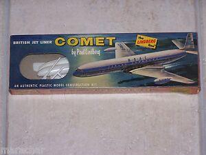 Maquette Lindberg 1/144ème D.h. Comet British Jet Liner Réf. No 455:49