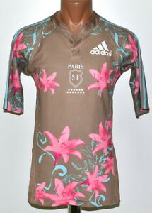 Details about PARIS SF FRANCE RUGBY UNION SHIRT JERSEY ADIDAS SIZE S ADULT