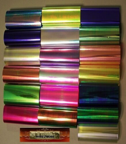 M02057 MOREZMORE Bulk Wholesale All Colors 19 x 50 Ft Angelina Fantasy Film DWS
