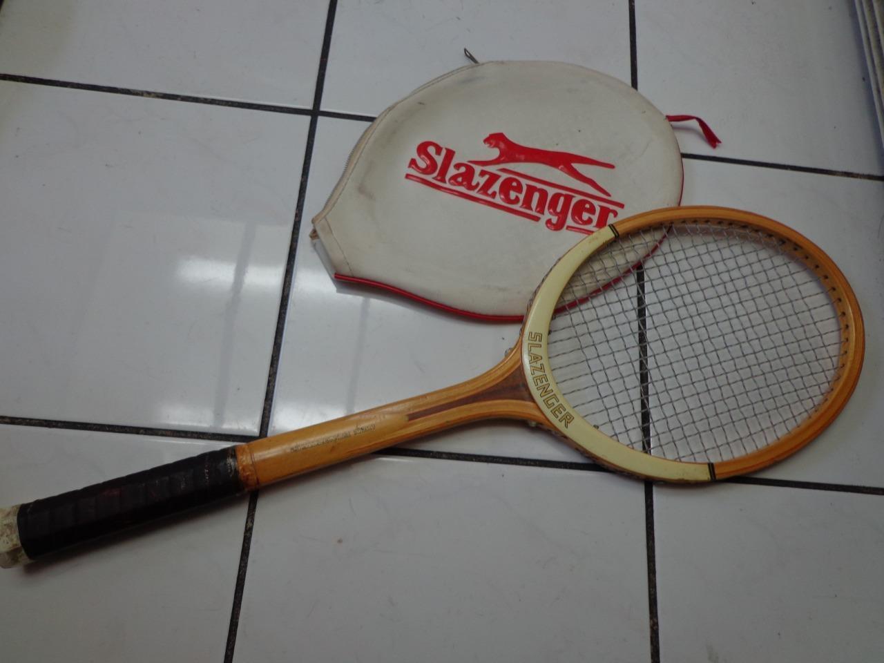 Slazenger Challenger No. 1 4 5 8 grip Wood Wooden Tennis Racquet