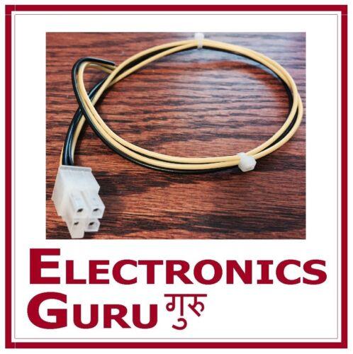 4-pin Speaker High level input plug harness Alpine 1 foot long 4pin
