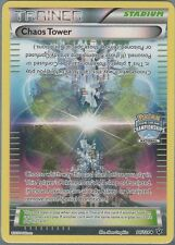 Pokemon Chaos Tower 94/124 Fates Collide STAFF Promo FOIL NM!!