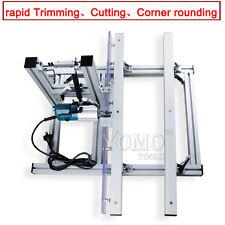 convenient woodworking machine edge trimmer  cutting and corner rounding