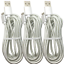 miniature 9 - 10Ft Android Micro USB Fast Charger Cable Data Sync Charging Cord For Samsung LG