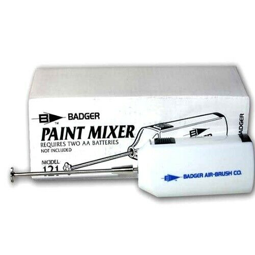 NEW Badger 121 Airbrush Paint Mixer FREE US SHIP