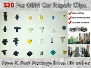520Pcs-Plastic-Car-Door-Trim-Clip-Bumper-Rivets-Screws-Panel-Push-Fastener-Kit