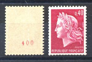 France 1536 Bc NUMERO ROUGE  TB xx Cote: 17,5 €