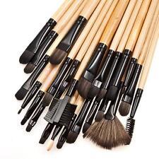 32pcs Make Up Bobbi Brushes Set With Soft Bag Case Beauty Eye Shadow Brown Kit