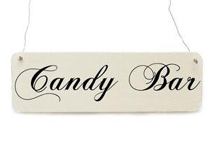 Shabby-Vintage-Schild-CANDY-BAR-Hochzeit-Dekoschild-Bonbon