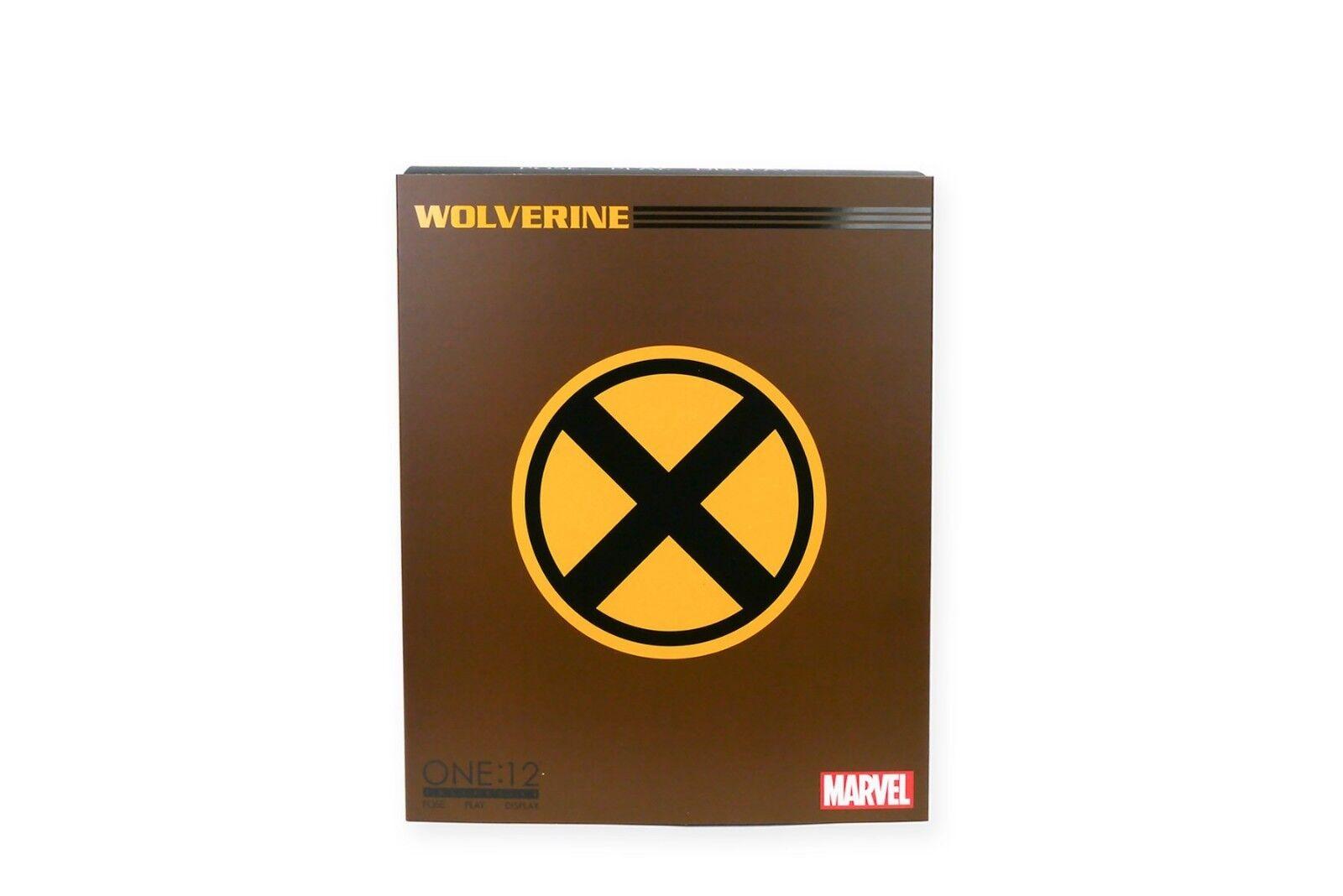 One  12 Marvel Comics X-Men The Wolverine Logan Action Figure Mezco 1 12 15cm