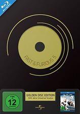 FAST & FURIOUS 5 GOLDEN DISC EDITION  BLU-RAY NEU