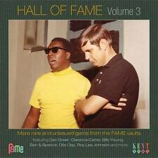 HALL OF FAME VOLUME 3  Various Artists NEW SOUTHERN SOUL CD (KENT) R&B RARE GEMS