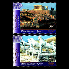 UN NY 2004 - World Heritage Sites in Greece Architecture Art - Sc 866/7 MNH