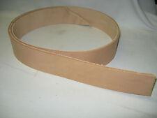 "Vegetable Tanned Leather Belt Blank 1 1/2"""