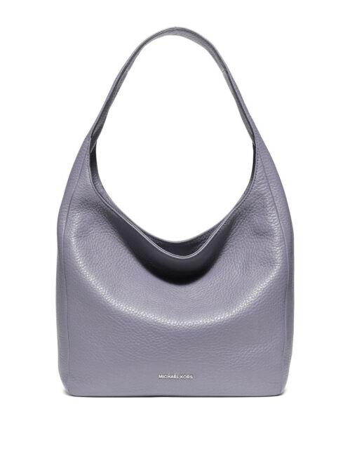 a257f1b29700 Michael Kors Lena Large Leather Lilac Purple Hobo Shoulder Bag for ...