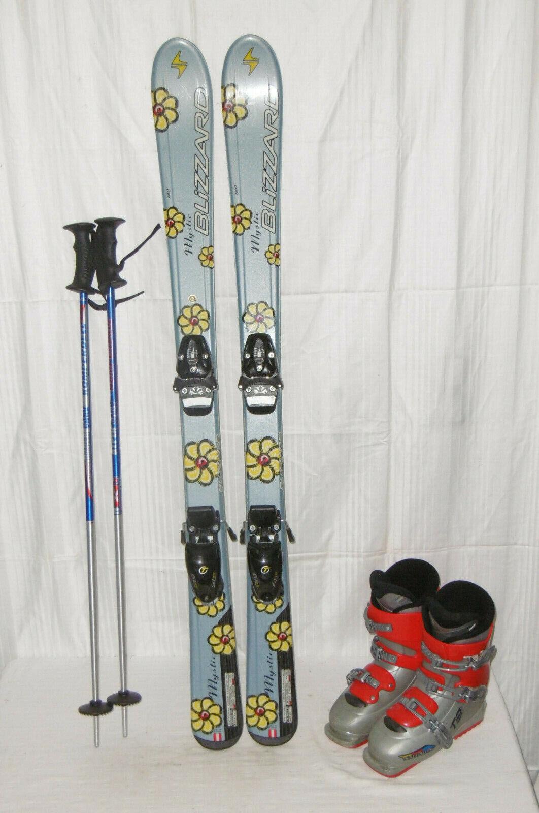 Blizzard  MYSTIC  Ski Junior Indoor Allround Carver 120 cm + Ski Stiefel Größe  36 Set
