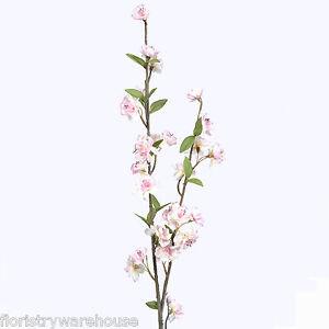Artificial Spring Blossom Branch 90cm//35 Inch Antique Pink Flower Decoration