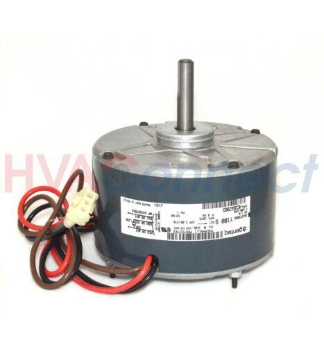 OEM GE Genteq Heil Tempstar 1//8 HP 230v A//C Condenser FAN MOTOR 5KCP39BGY100S