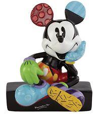 Disney by Romero Britto Mickey Mouse Sitting Mini Figure Ornament 7.5cm 4044114