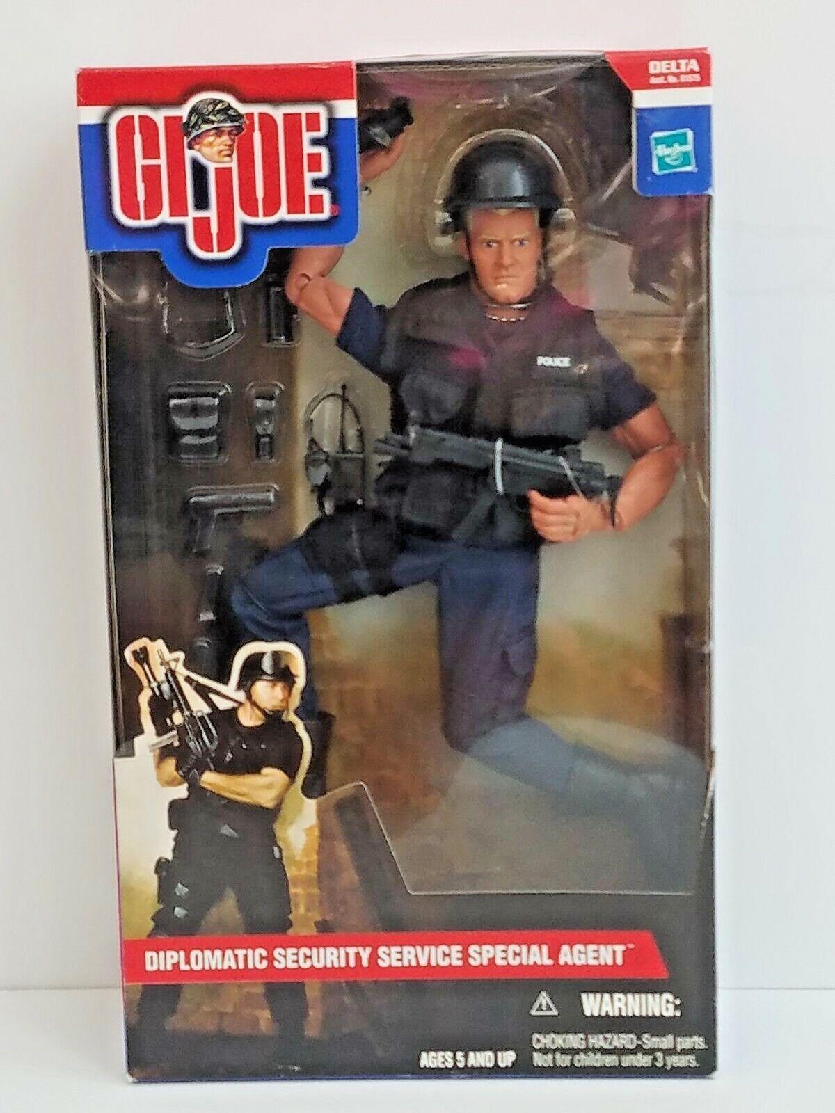 GI Joe Diplomat Security Service Special Agent DSS 2001 Hasbro Action Figure