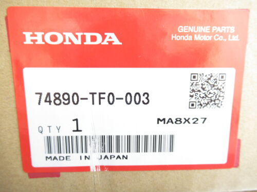 Genuine Honda 74890-TF0-003 Liftgate Tailgate License Plate Molding 2009-13 Fit