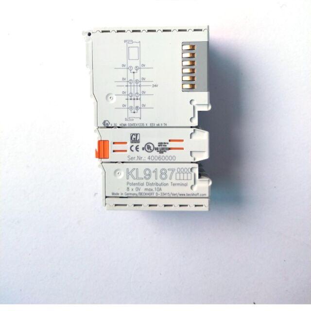 A●Beckhoff  KL9187  Module New