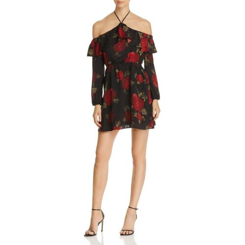 Cupcakes and Cashmere Womens Boden Halter Floral Casual Dress BHFO 6161