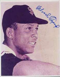 Orlando-Cepeda-Psa-dna-Signed-Certified-8x10-Photo-Authentic-Autograph